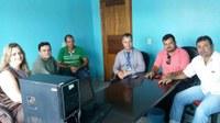 Reunião com o Gerente e equipe da Caixa Econômica Federal