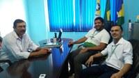Reunião na Câmara Municipal com a Equipe do Banco da Amazônia